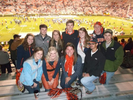 auburn 2013 football friends jordan hare stadium