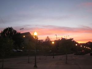 auburn sunrise