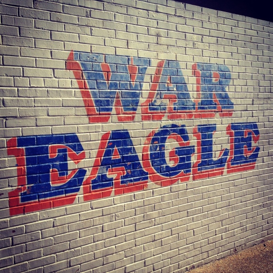 Auburn, Aren't You the War Eagles?