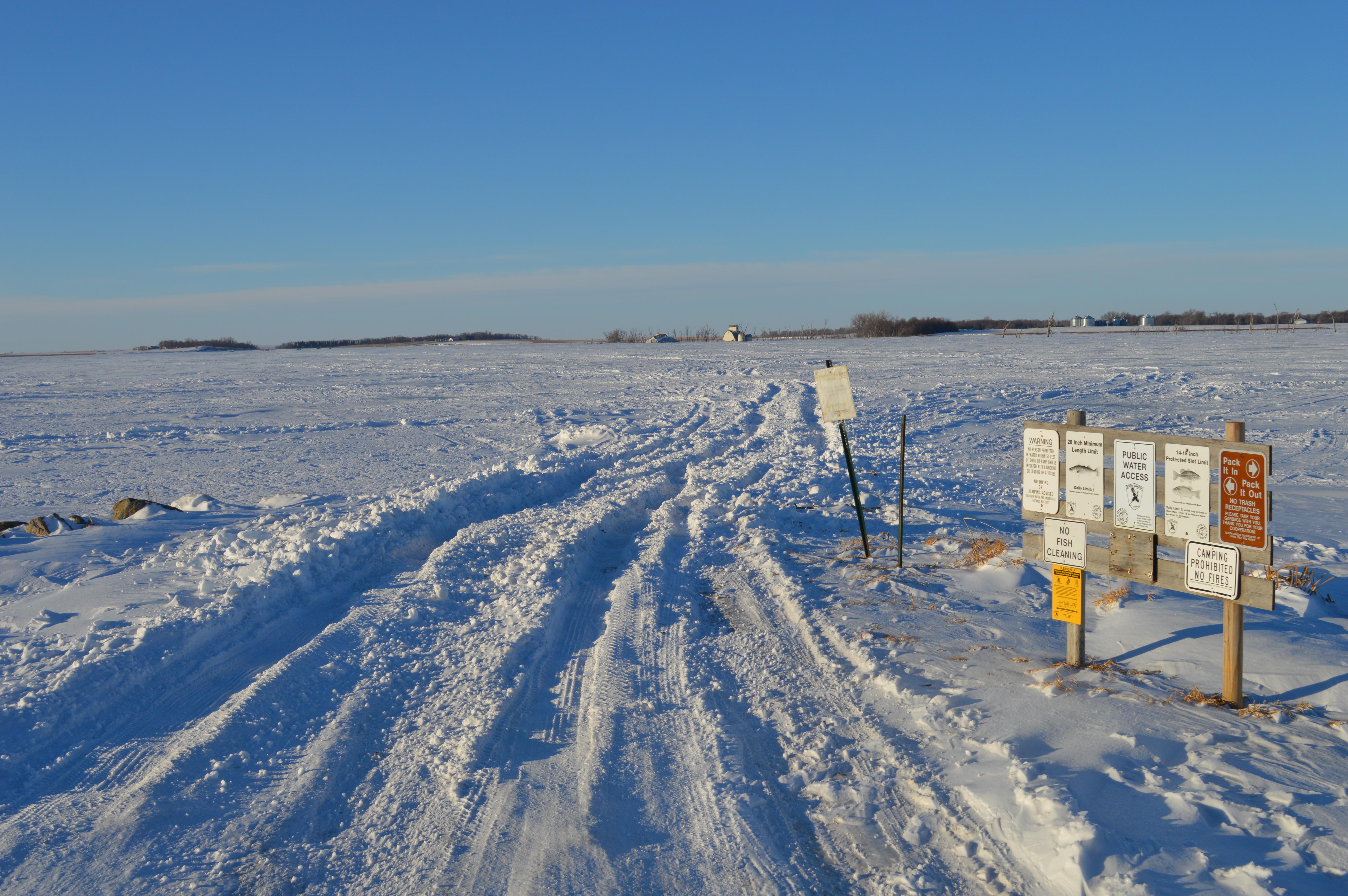 Travel al from al for South dakota ice fishing