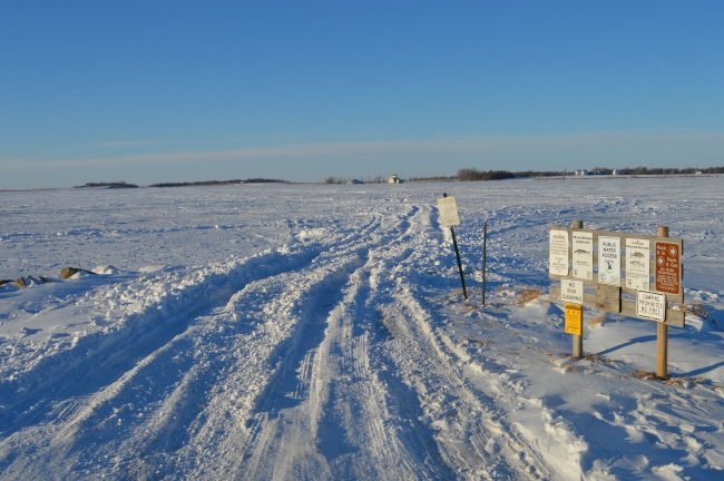 Webster South Dakota ice fishing